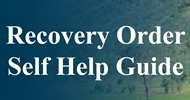Recovery Order Self Help Guide - information on the Legal Aid WA website